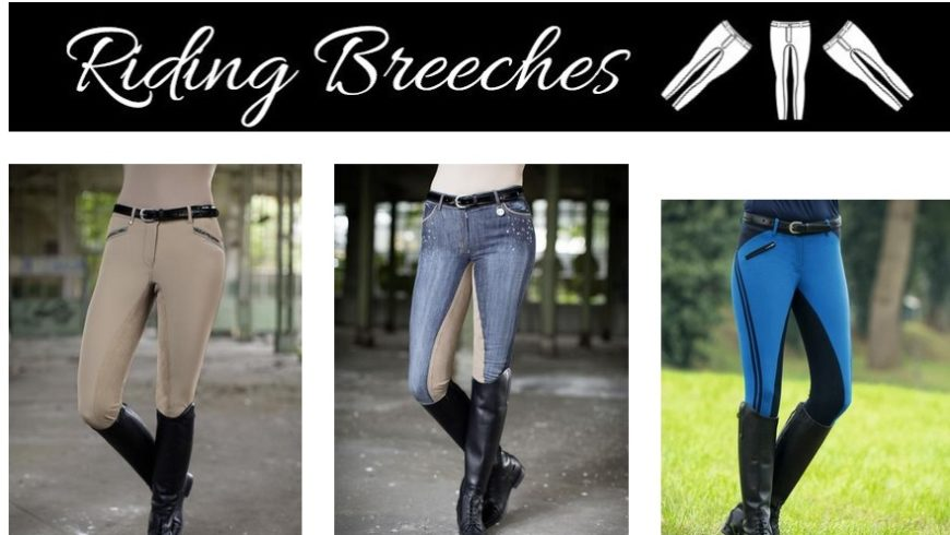 High End Women's Riding Breeches